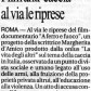 """""""La Repubblica"""" - 23/02/2009"""