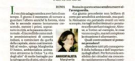 """Margherita d'Amico: """"Ma in città fli alberi non sono mai abbastanza"""""""